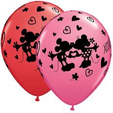 Balóny Mickey & Minnie Xoxo Q 11´´