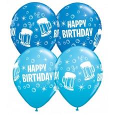 Balóny Pivo Happy Birthday Q 11´´ RND