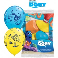 Balóny Hľadá sa Dory 6ks Q 12´´