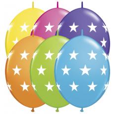 Naväzovacie balóny Hviezdičky Q-link 12
