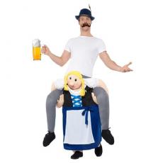 Bavorský kostým piggyback