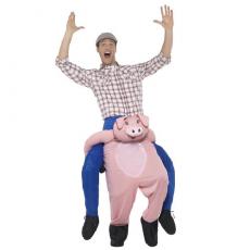 Kostým Prasa piggyback