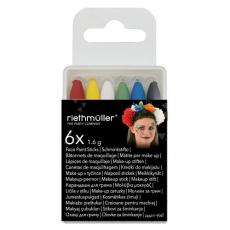 Farby na tvár ceruzky /12ks/