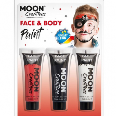 Farby na tvár Moon Pirát