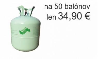 Hélium - jednorázové