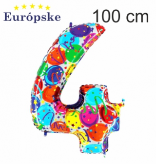 Čísla vzor balóny maxi