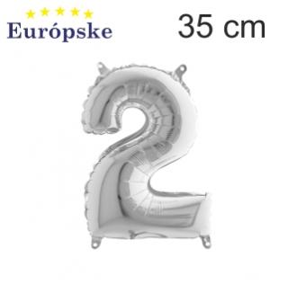 Strieborné čísla mini