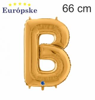 Zlaté písmena veľké