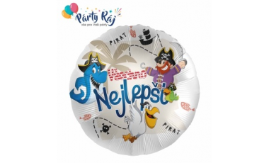 Balóny fóliové s českým textom 45 cm
