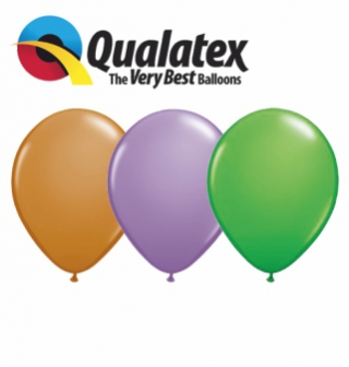 Latexové balony Qualatex Standart & fashion