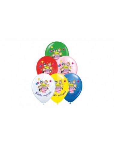 Balóny s potlačou Disney - Mickey Mouse, McQueen.