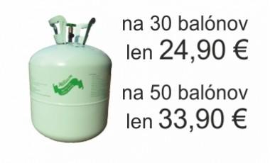 Hélium do balónov