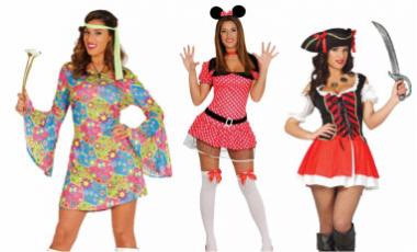 Dámske karnevalové kostýmy