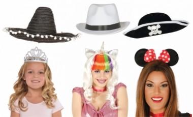 Parochne, klobúky, čelenky, korunky ...