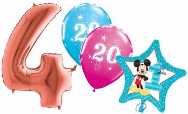Balónky čísla