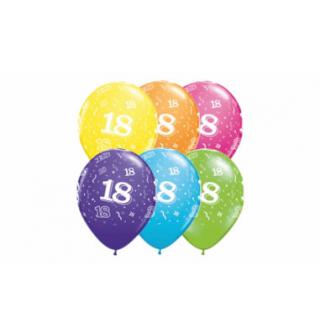 Balóny gumové s číslom