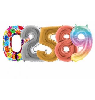 Balóny čísla mini