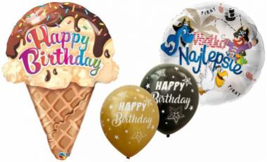 Balóny Happy birthday