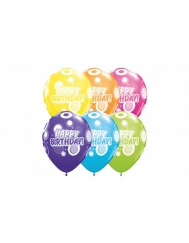 Balóny gumové narodeninové