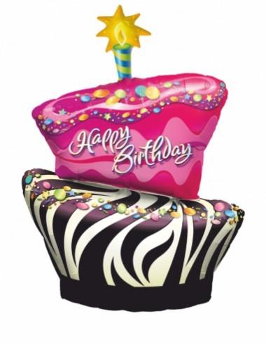Balóny fóliové Happy birthday 65-100cm