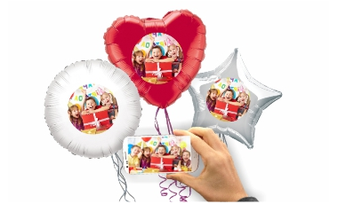 Balóny s vlastnou fotkou