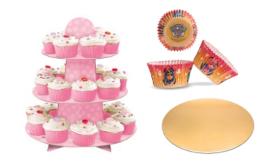Košíčky a stojany na muffiny