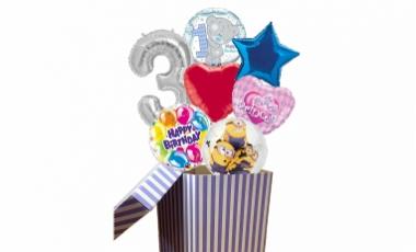 Balóny z krabice